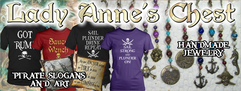 Lady Anne's Chest Pirate Slogans and Art