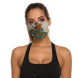 The Green Knight Medieval Illumination Face Mask
