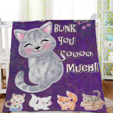 I Slow Blink You So Much Fleece Blanket