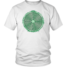 Load image into Gallery viewer, Chartres Cathedral Labyrinth Shirt White