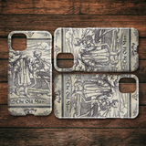 The Old Man - Hans Holbein iPhone Case
