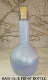 frost bottle, potion bottle, hand painted, bottle,LARP,wedding,bride,gift,bridal,wedding gift,bridesmaid,bridesmaid gift,role playing,potion,live action role playing,dungeons, dragons