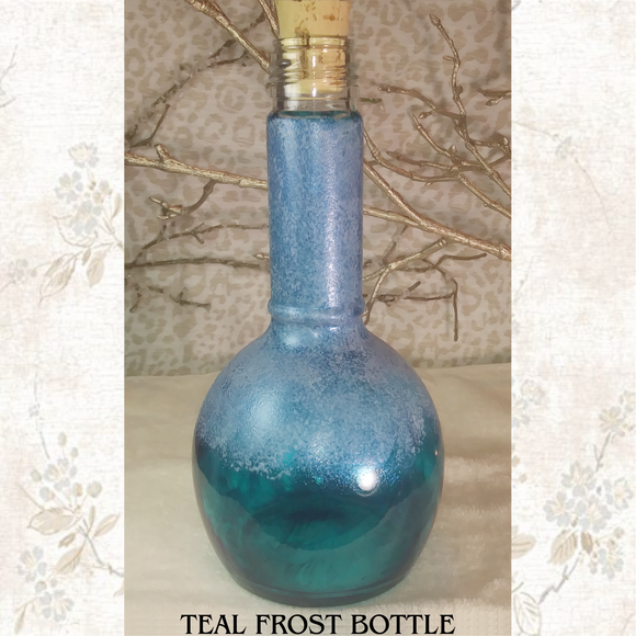 Teal Frost Bottle