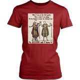 I'm Saxon And I Know It - Bayeux Tapestry - Women's T-shirt