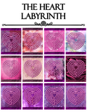 mindful tracing art, labyrinth, finger labyrinth, meditation, mindfulness, therapy, classroom, student, stress, anxiety, anger, PTSD, ADHD, autism, management