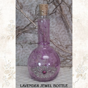 jewel bottle, potion bottle, hand painted, bottle,LARP,wedding,bride,gift,bridal,wedding gift,bridesmaid,bridesmaid gift,role playing,potion,live action role playing,dungeons, dragons,pirate,booty,plunder,renaissance, reenactment