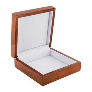 Meis Galicia Labyrinth Jewelry Box in Red Mahogany, Golden Oak, or Ebony Black