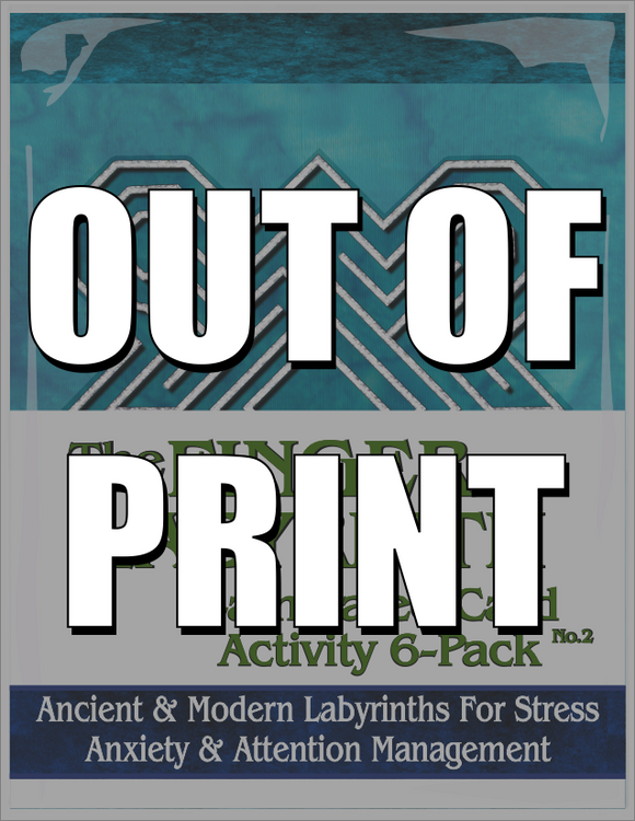 Finger Labyrinth Laminated Card 6-Pack 2