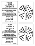 labyrinth, finger labyrinth, mindfulness, meditation, stress management, anxiety management, attention deficit management