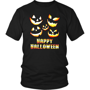 Jack O' Lanterns Happy Halloween Unisex Shirt
