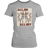 Sax-ON, Sax-OFF - Bayeux Tapestry Women's T-shirt