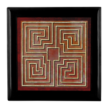 Load image into Gallery viewer, St. Raparatus Labyrinth Jewelry Box in Red Mahogany, Golden Oak, or Ebony Black