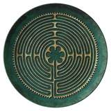Chartres Cathedral Labyrinth ThermoSāf® Polymer Dinner Plate