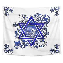 Load image into Gallery viewer, jewish, judaic,jew,hebrew,hamesh,hamsa,chamsa,khamsa,tribe of God,chai,star of david, mogen david, menorah, Chanukah, Hanukkah, Festival of Lights,chuppah, wedding chuppah
