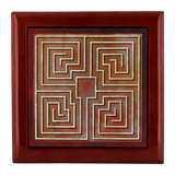 St. Raparatus Labyrinth Jewelry Box in Red Mahogany, Golden Oak, or Ebony Black