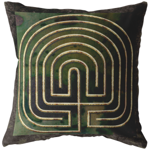 7 Circuit Seed Labyrinth Sage and Brown