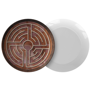 St. Lambertus Labyrinth ThermoSāf® Polymer Dinner Plate