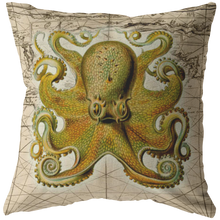 Load image into Gallery viewer, vintage,ocean,collage,sea,seafaring,nautical,pirate,jellyfish,seahorse,starfish,octopus