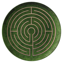 Load image into Gallery viewer, Abingdon Abbey Labyrinth ThermoSāf® Polymer Dinner Plate