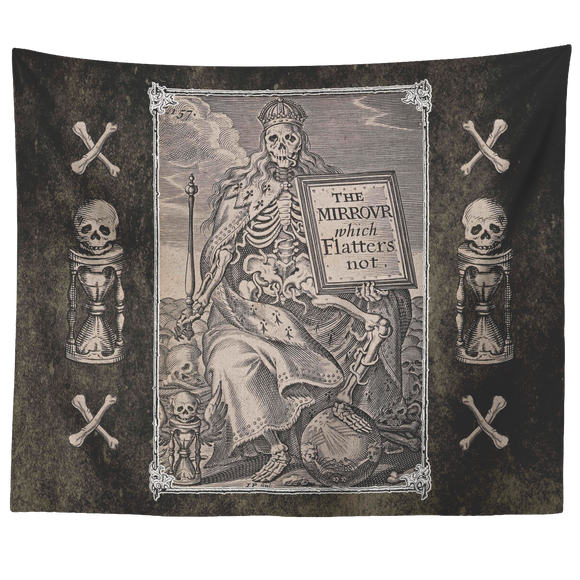 Danse Macabre, Dance Macabre, Dance Of Death, Dances With Death, Mirror Which Flatters Not, Mirrour, Skeleton, Medieval, Renaissance, Art, Goth, Gothic, Memento Mori