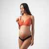 AMBITION PLUNGE CHILLI CONTOUR NURSING Breastfeeding pregnancy  BRA - FLEXI UNDERWIRE with ambition brazilian bikini black