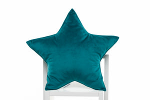 teal velor pillows for kids room