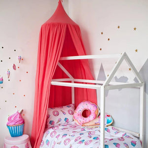 Muslim coral canopy, baby room decor with canopy, coral canopy, yummy bedroom accessories