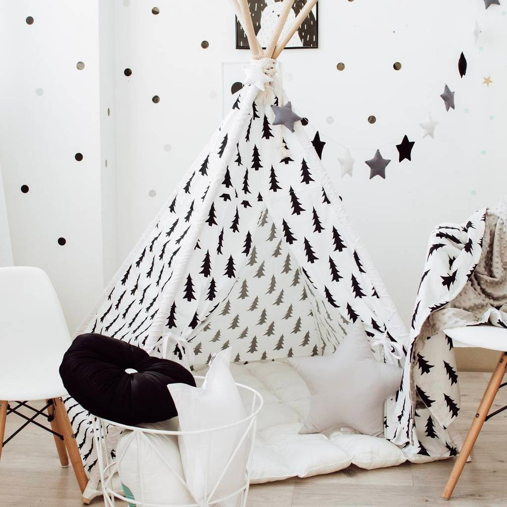 tent house for kids, indoor tent, girls play tent, boys play tent, toddler play tent, Happy Spaces teepee