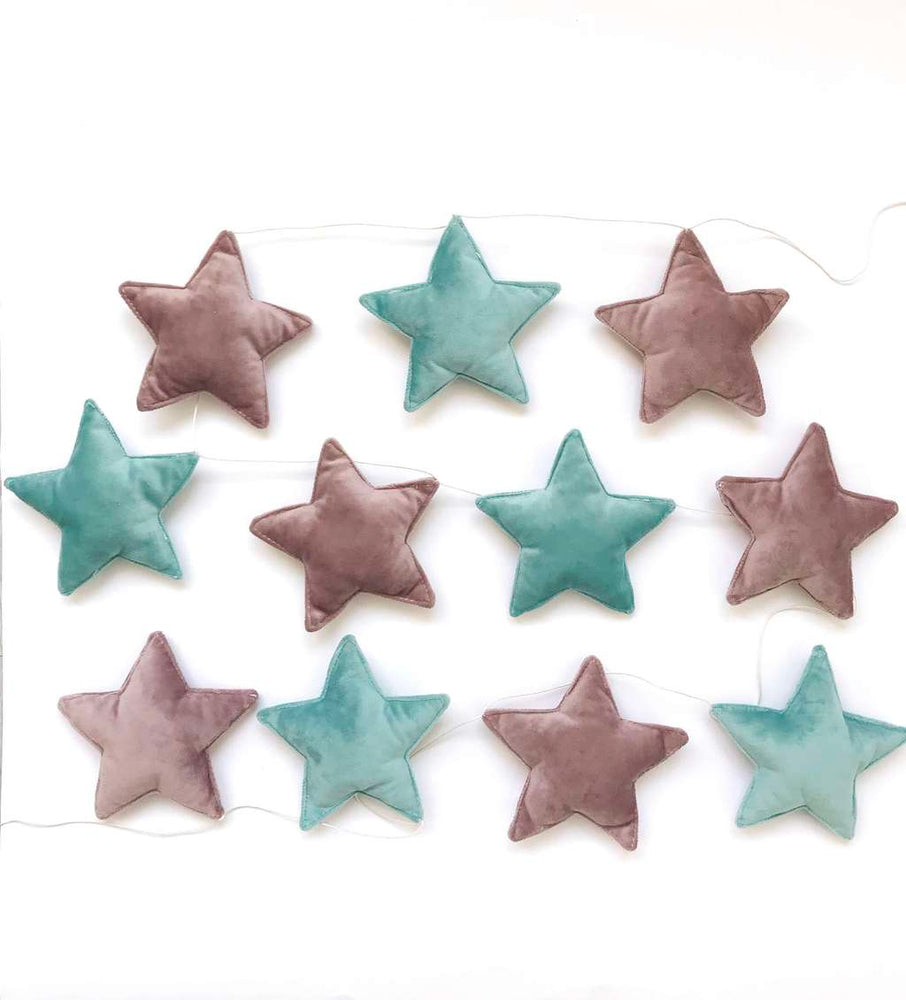 kids garland, mind festoon, ash pink hanging, hang with stars, hanging for girls, hang for boys
