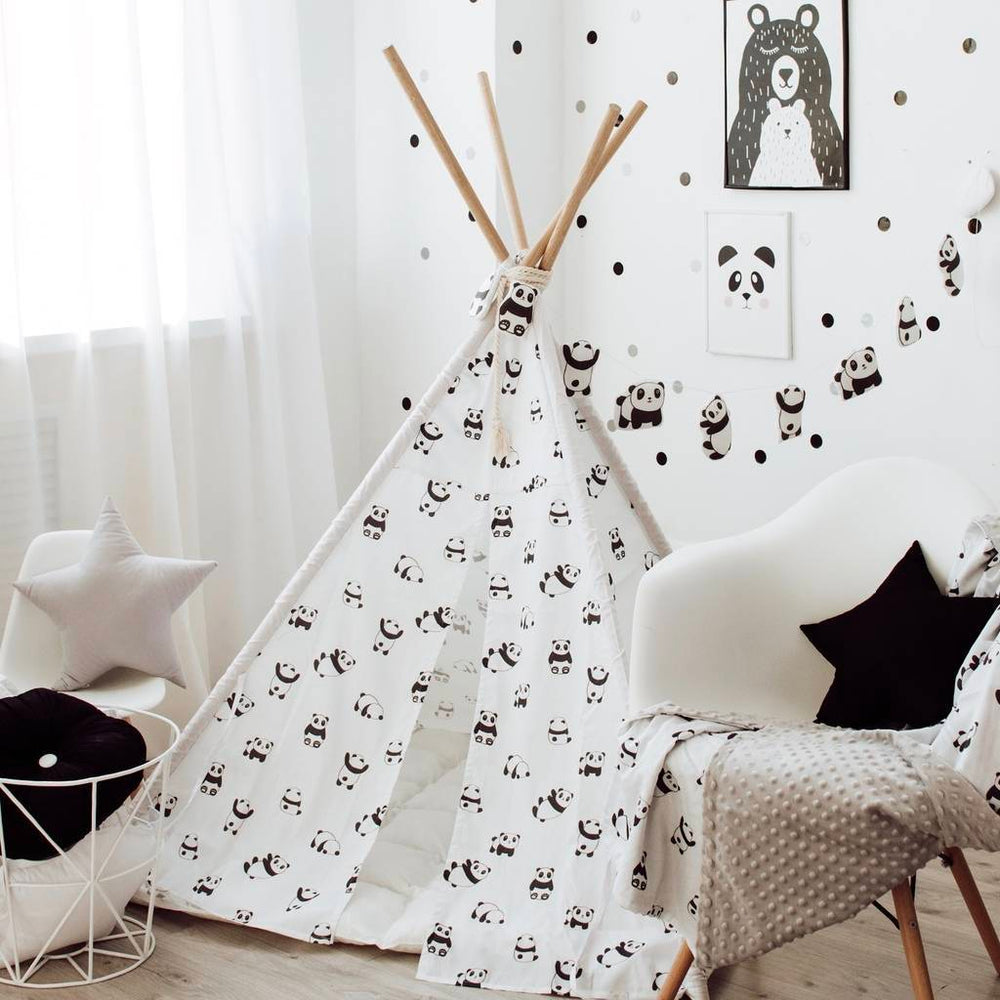 kids tent, white and black kids play tent, tent house for kids, indoor tent ,girls play tent, boys play tent