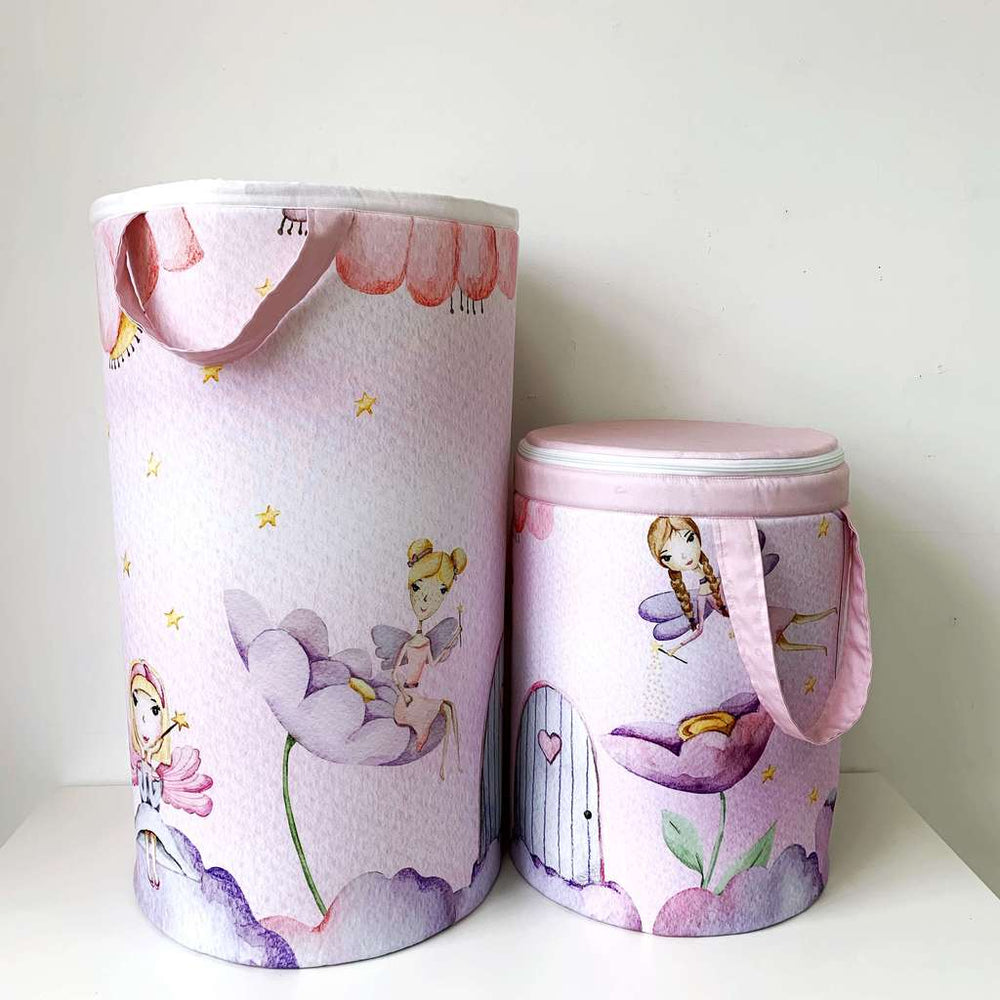 toy storage, dusty pint toy storage, toy organizer with fairies, toys storage with princess, toys storage bins for girls