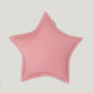 baby room decor with pink pillows, stars room decor
