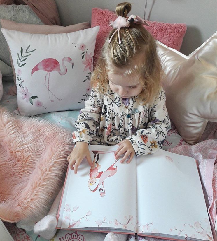 kids flamingo bedroom decor, decorative pillows for girls room