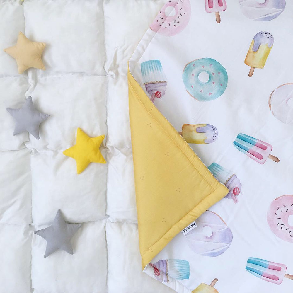 yellow blanket, baby blankets with sweety, blanket for girls, baby blankets with sweety