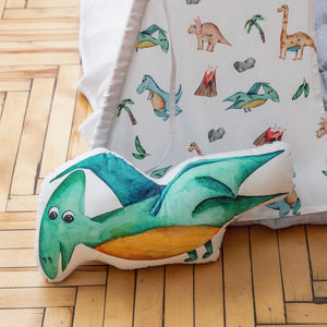 Pterodactyl cushion