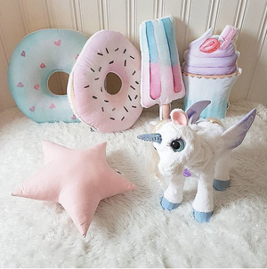 Pink Sweety doughnut cushion