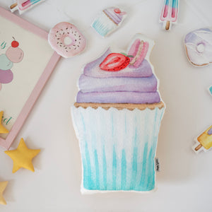 Cupcake sweety cushion, cupcake pillows for girls room
