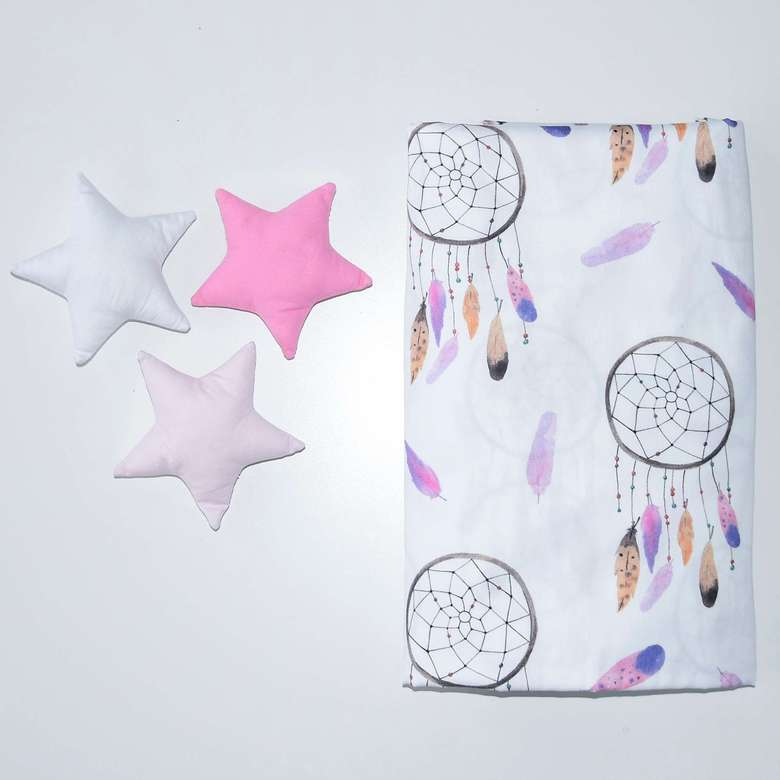 Happy Spaces bed sheets, bed sheets for girls, sheets for girls, sheets for kids, childrens bed sheets