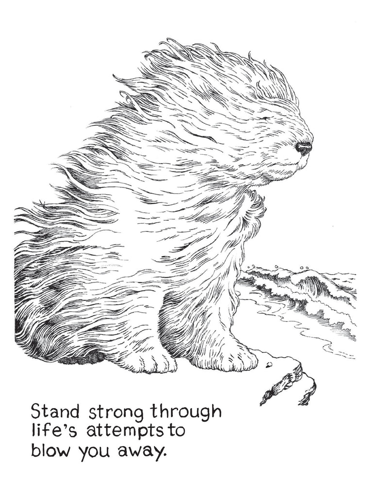 strong - encouragement card