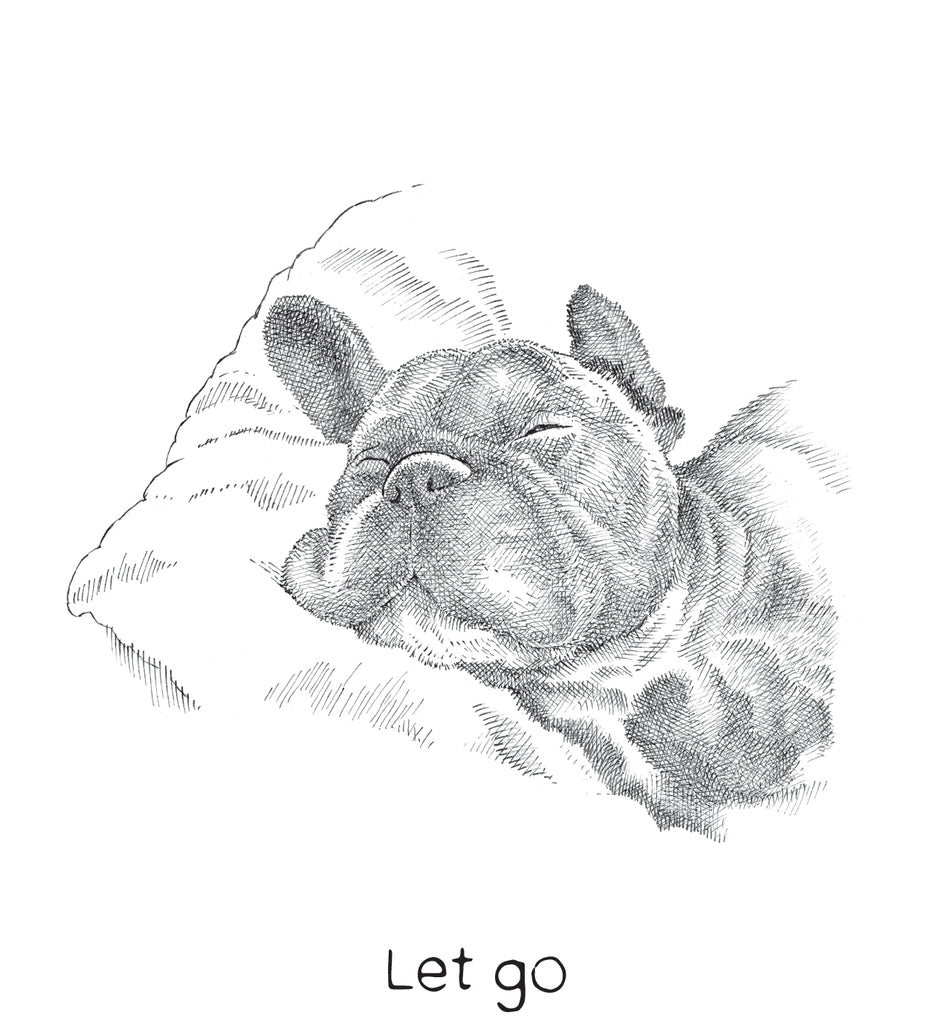 restore - frenchie friendship card