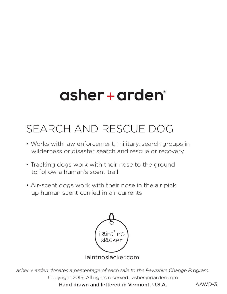 dogs + cats - Search and Rescue