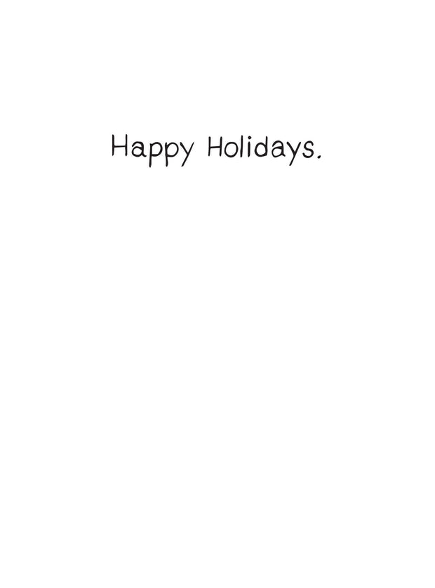 millie hosts - holiday card 1