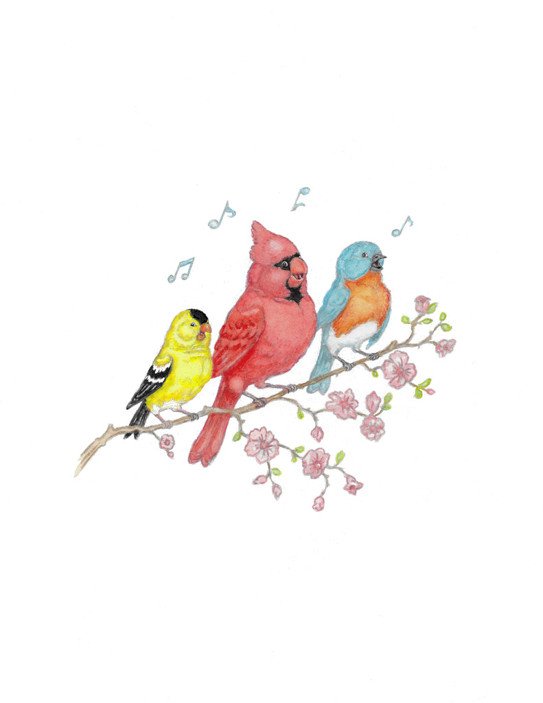 songbirds - Friendship card