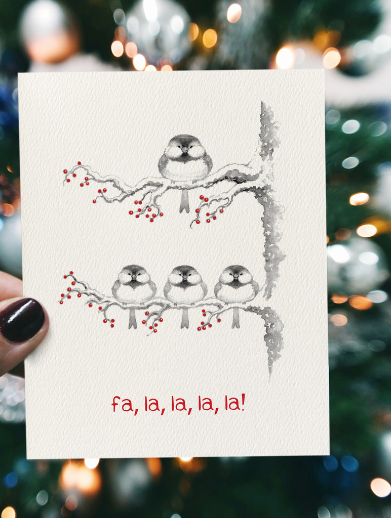 songbirds - Christmas card