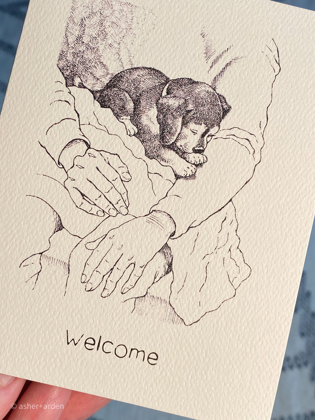 welcome - new dog 1