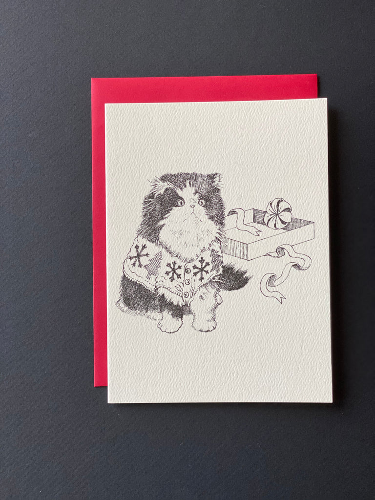 dogs + cats - Christmas card