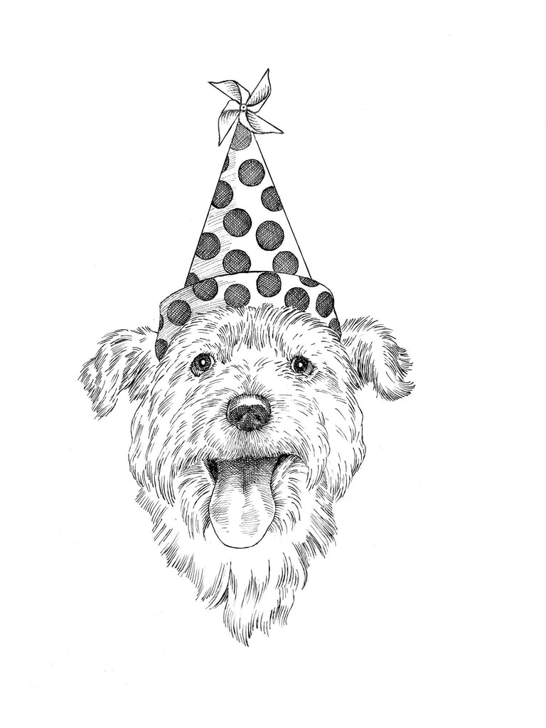 dogs + cats - Birthday card