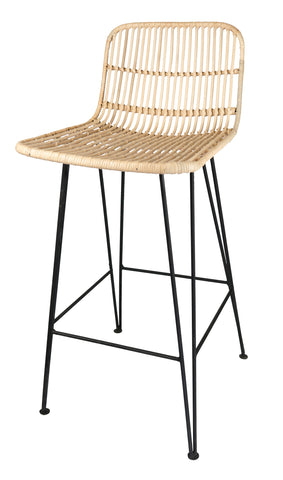 Rattan Breakfast Bar Stool