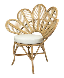 Rattan Flower Chair