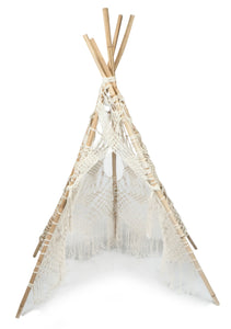 Macrame Teepee / slight seconds